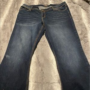 Boot cut jeans size 22 tall